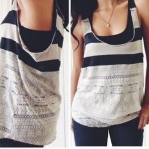 We The Free by Free People Stripe Tank
